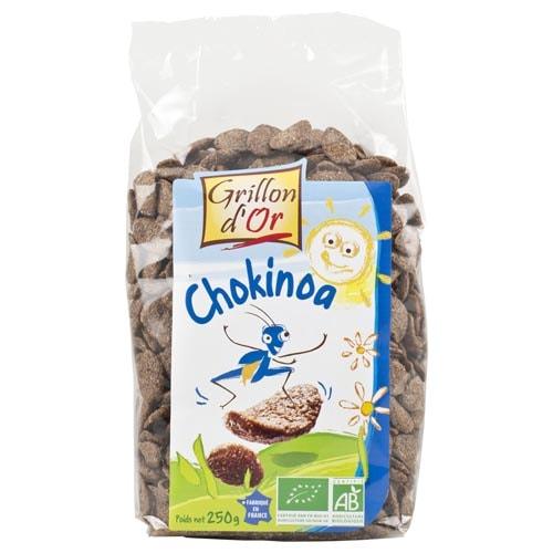 Βιολογικα Chips σοκολάτας με κινόα Chokinoa