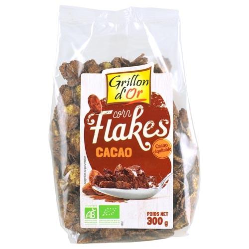 Βιολογικά Corn flakes με σοκολάτα Cereco