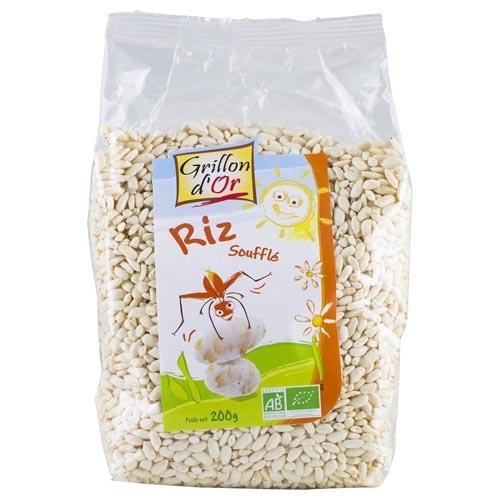 Βιολογικά Pops ρυζιού Riz souffle